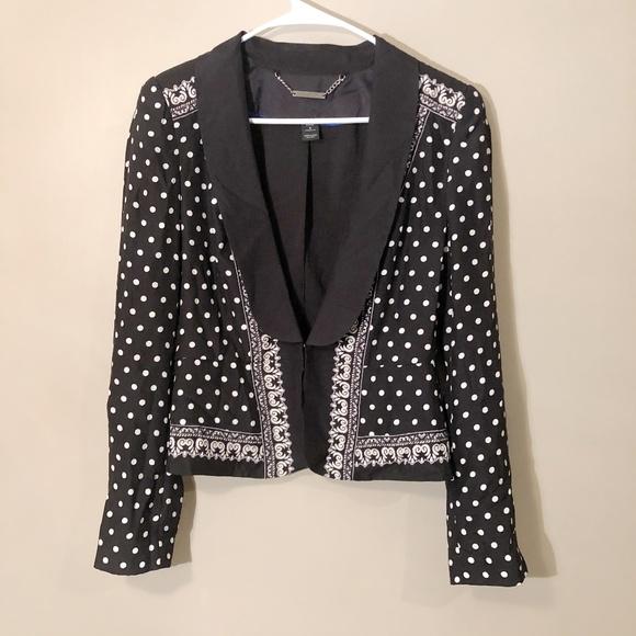 White House Black Market Jackets & Blazers - White House Black Market | 100% Silk Blazer Sz 6
